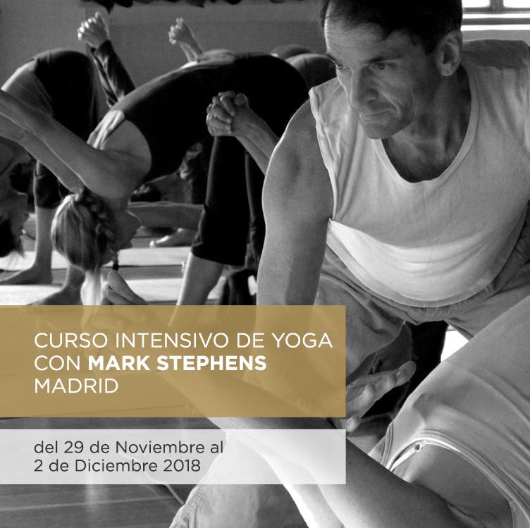 Curso intensivo de yoga con Mark Stephens I 29 Noviembre – 2 Diciembre