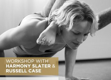 Workshop with Harmony Slater &  Russell Case I July 12th to 14th
