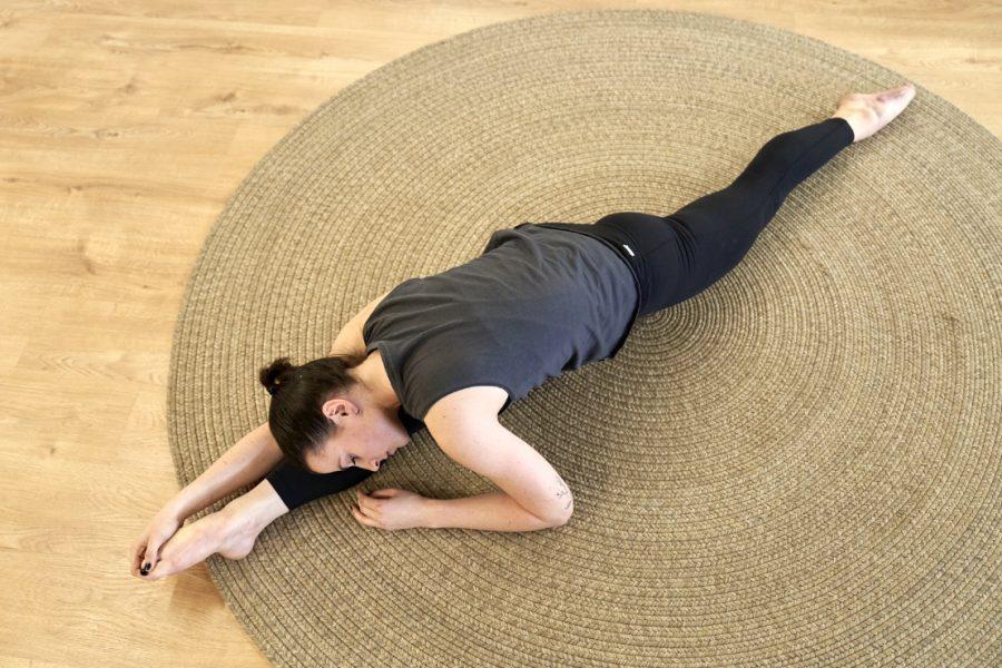 Yoga durante el ciclo
